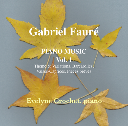 FAURÉ: Complete Piano Works, Vol 1