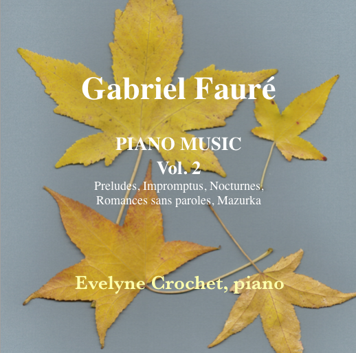 FAURÉ: Complete Piano Works, Vol 2